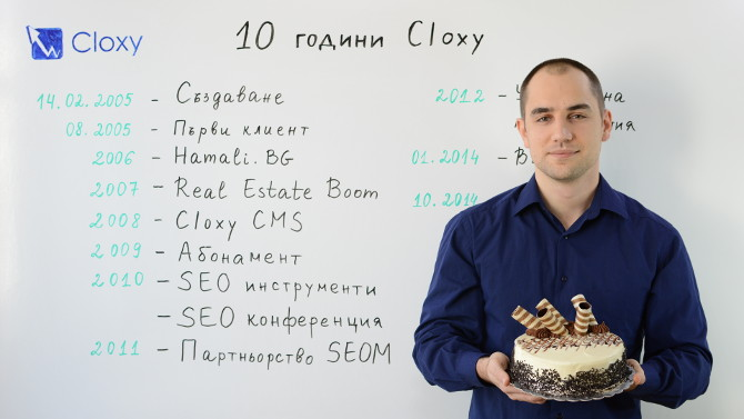 10 години Cloxy (Видео)