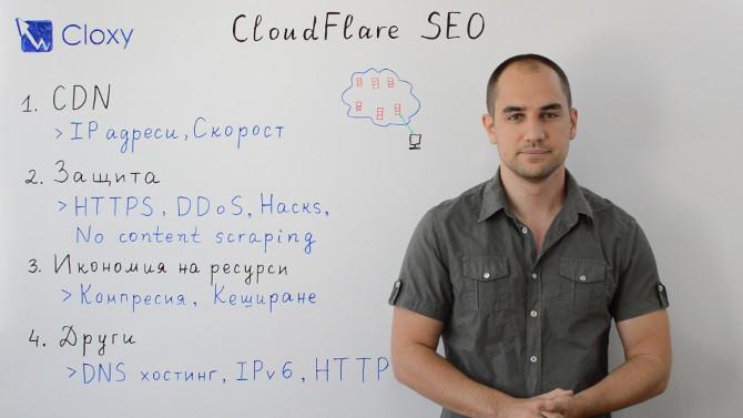 CloudFlare : SEO предимства и недостатъци (Видео)