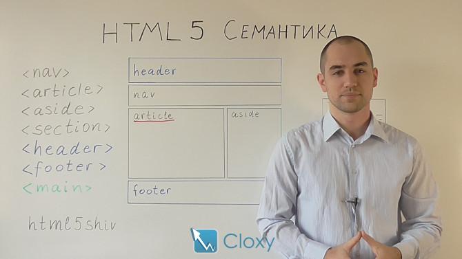 HTML5 Семантика (Видео)