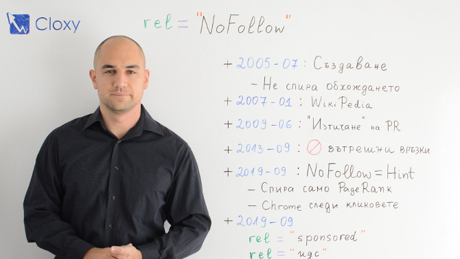 NoFollow Релация на Връзките – История и Митове (Видео)