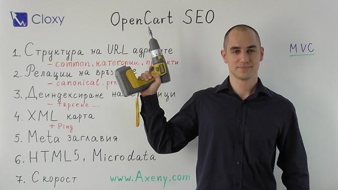 SEO на OpenCart онлайн магазини (Видео)