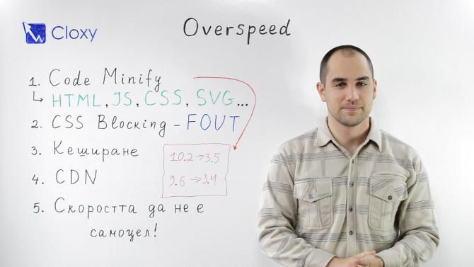 Скорост на зареждане на сайт – преоптимизация (Видео)